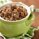 Veal crumble: