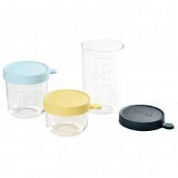 玻璃食物儲存器(3件裝)