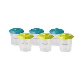 嬰兒食物儲存器6件裝 – 第二階段(200ml)