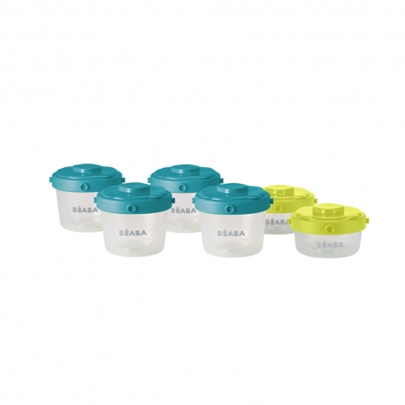 Set of 6 Clip Portions - 1st age (60ml + 120ml)
