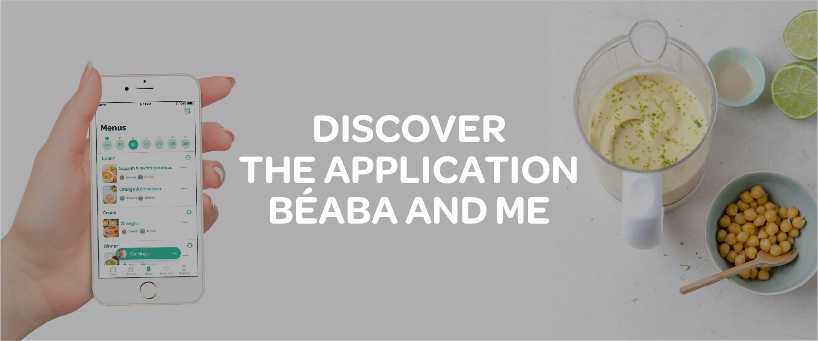 Beaba & Me App - Recipes + Warranty